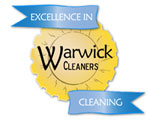 warwick cleaners domestic cleaning company logo